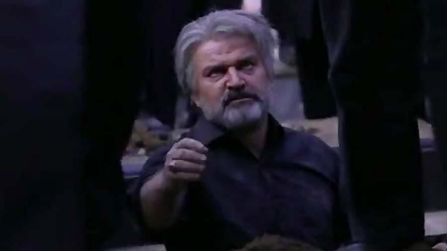 سکانس تلخ دفن حامد توسط پدرش در سریال پدر