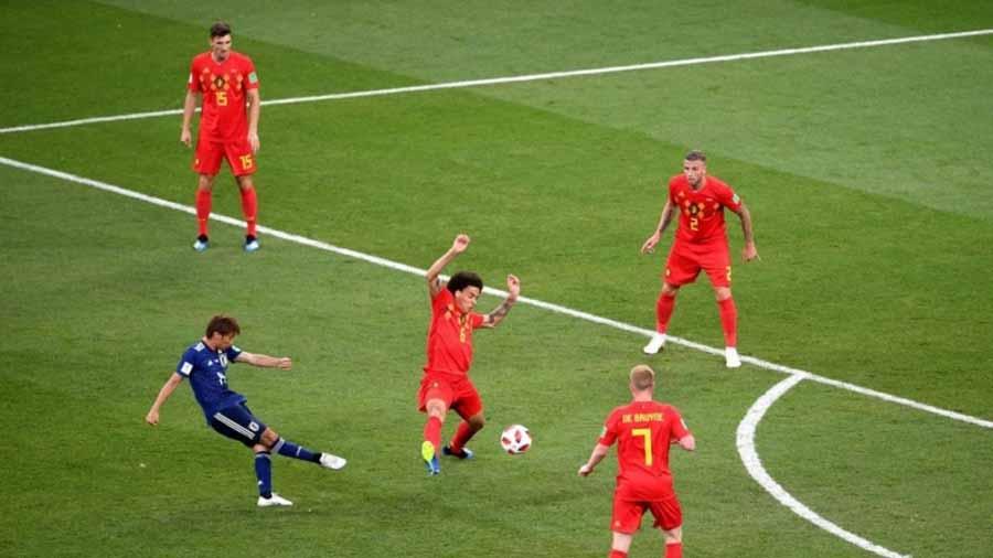 سوپر گل های جام جهانی(21) «تاکاشی اینوی» به بلژیک