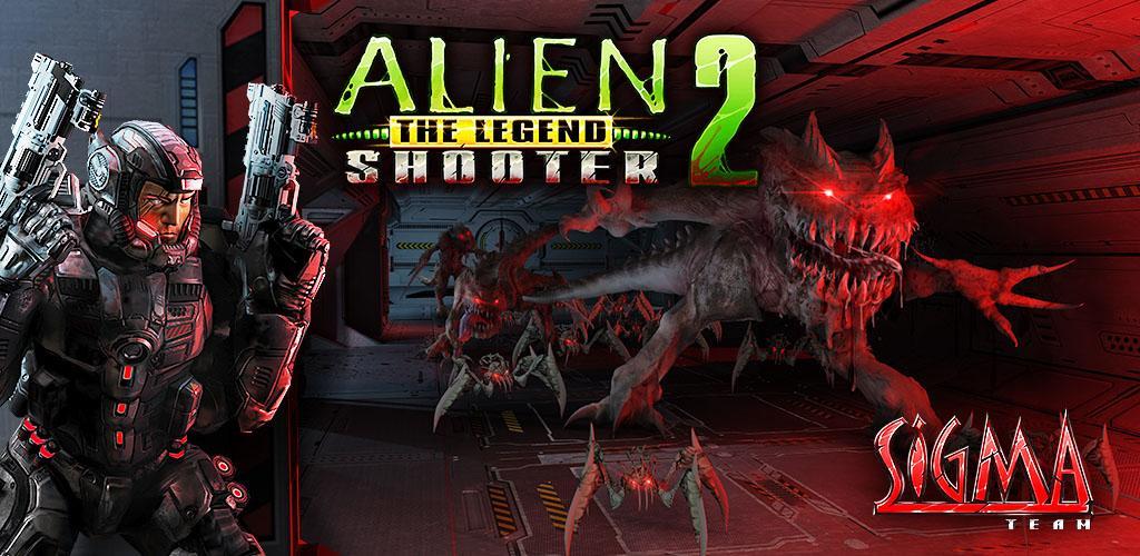 دانلود Alien Shooter 2 - The Legend - بازی آلین شوتر 2 - افسانه برای اندروید + مود + دیتا