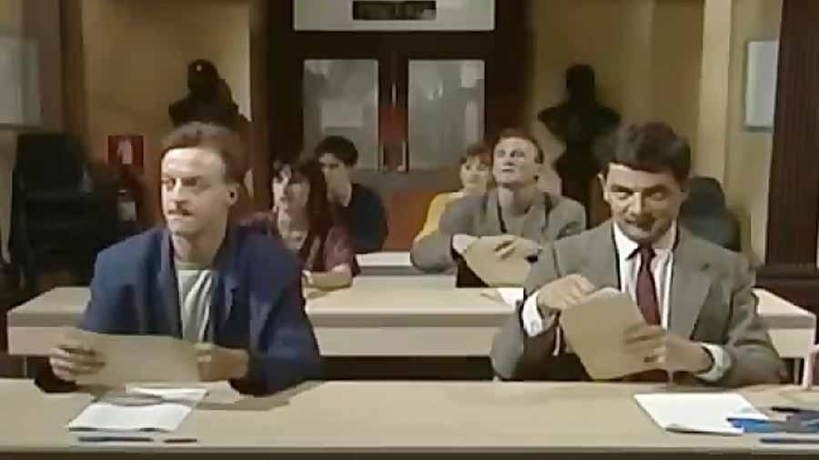 مستربین در امتحان - تقلب مستر بین