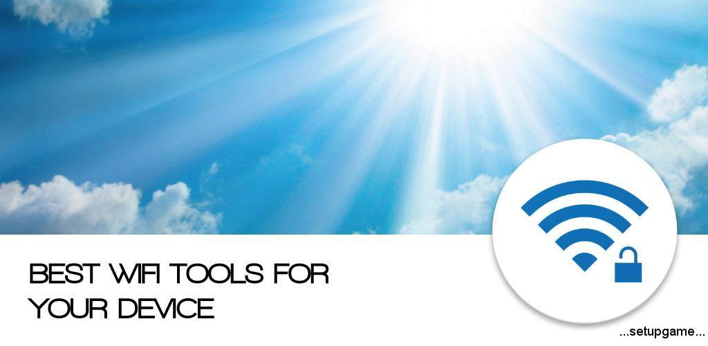 WIFI PASSWORD ALL IN ONE Full دانلود WIFI PASSWORD ALL IN ONE Full 3.0.4 - مجموعه ابزار محافظت از شبکه وای فای اندروید