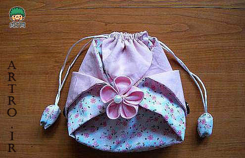 آموزش دوخت کیف پارچه ای دخترونه