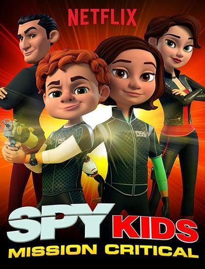 دانلود دوبله فارسی انیمیشن بچه های جاسوس Spy Kids: Mission Critical 2018