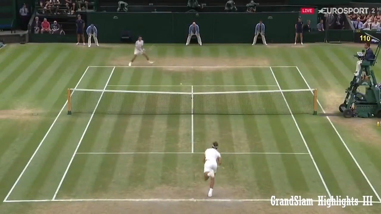 بهترین مسابقه تنیس در سال 2018 با کیفیت HD