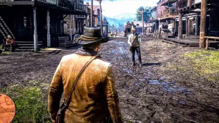 تریلر گیم پلی Red Dead Redemption 2 + زیرنویس (FullHD)
