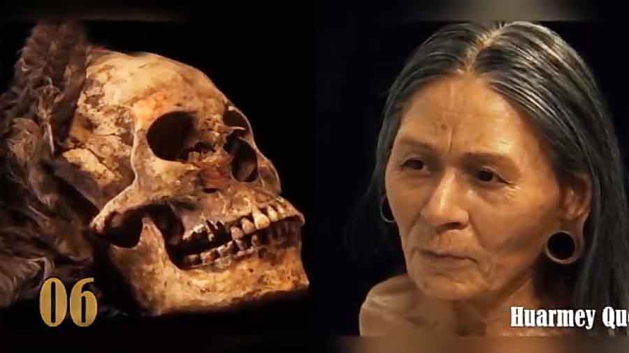 بازسازی چهره های سرشناس تاریخ