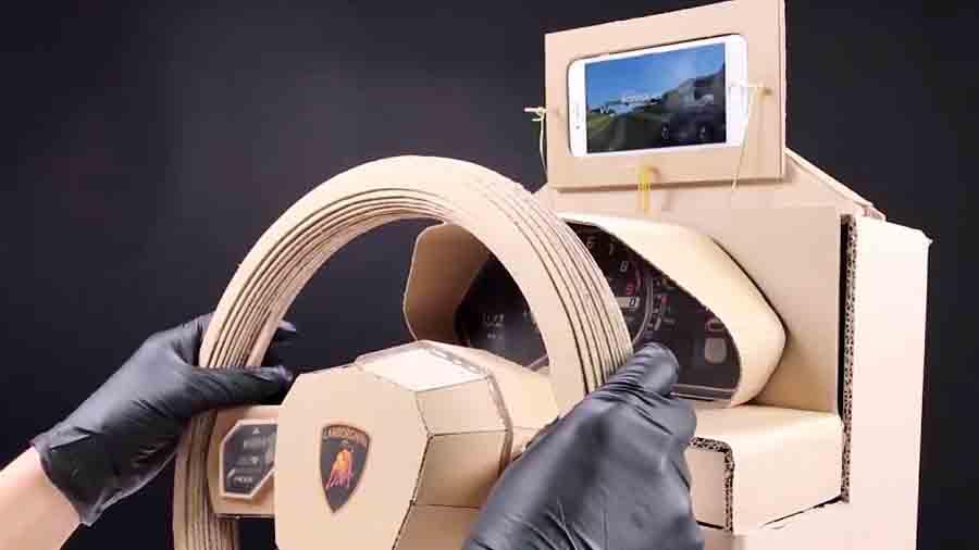 ساختنی و سرگرمی متفاوت:ساخت وسیله بازی (2)