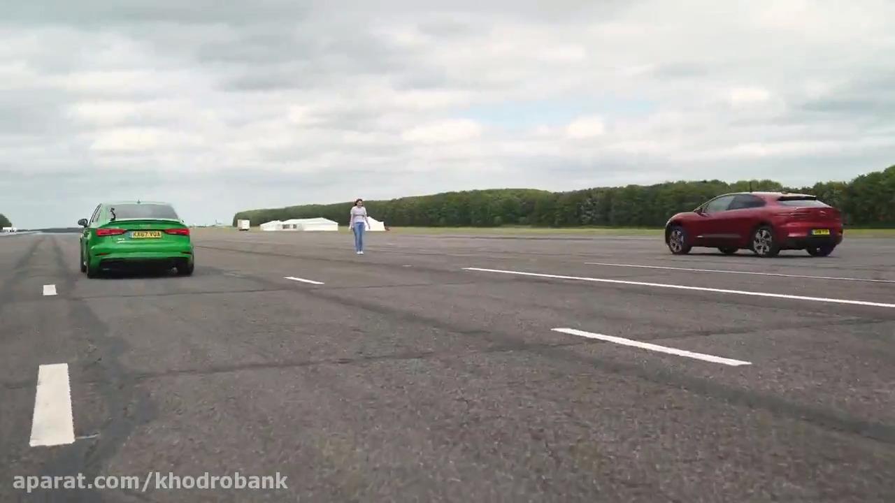 رقابت برق یا بنزین؟ جگوار I-Pace در برابر آئودی RS3