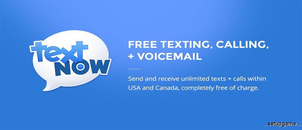 دانلود TextNow - free text + calls PREMIUM 5.72.0.1 Final - برنامه شماره مجازی رایگان اندروید