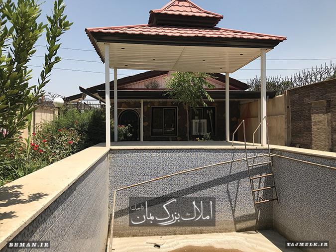 باغ ویلا در ملارد کد 1009 املاک بمان