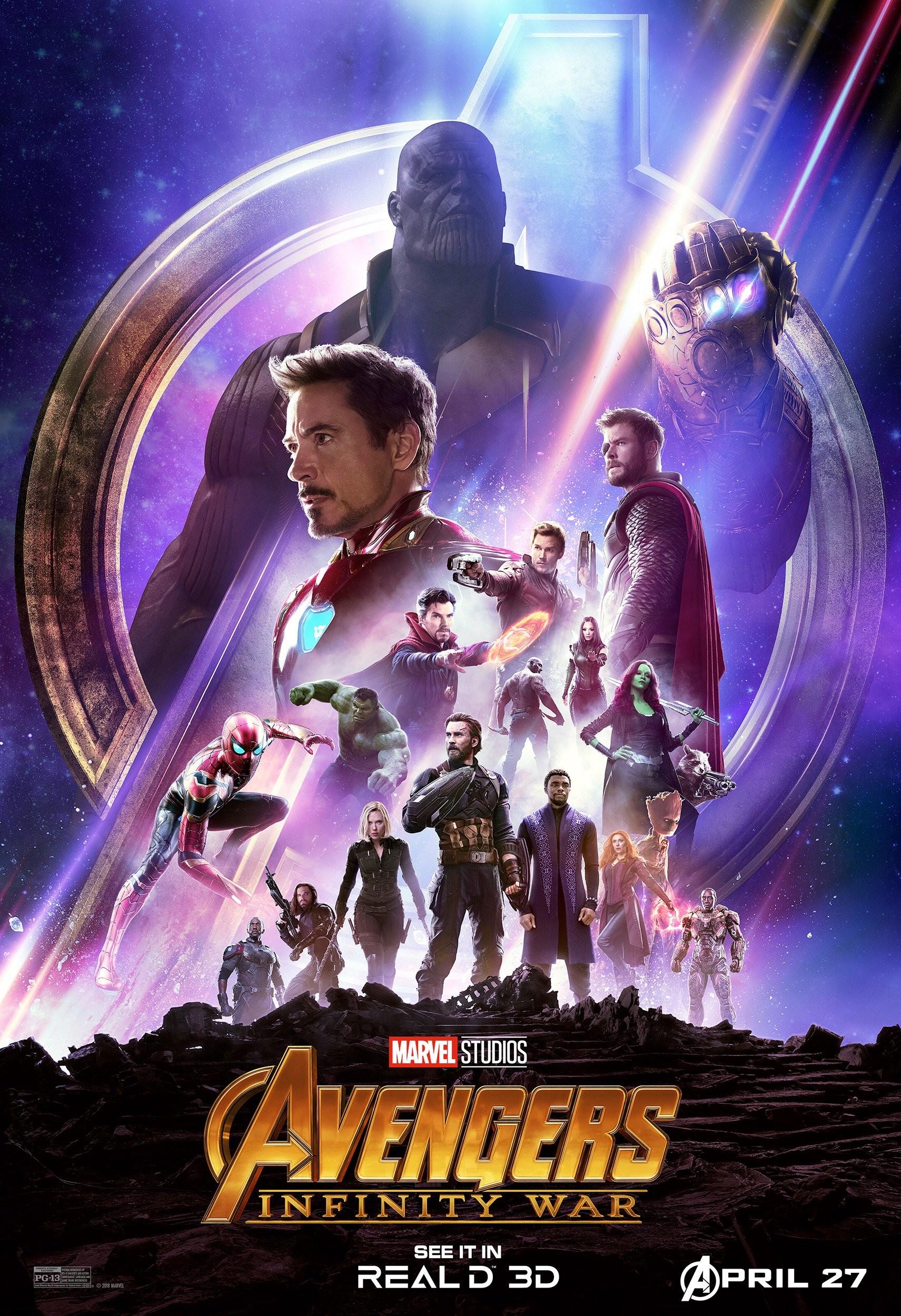 فیلم 2018 Avengers: Infinity War