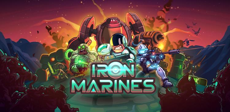دانلود Iron Marines - بازی استراتژی تفنگداران آهنین برای اندروید + مود + دیتا