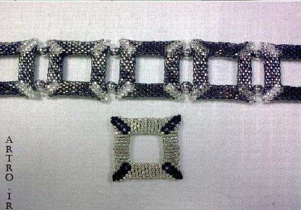 آموزش ساخت دستبند دخترانه