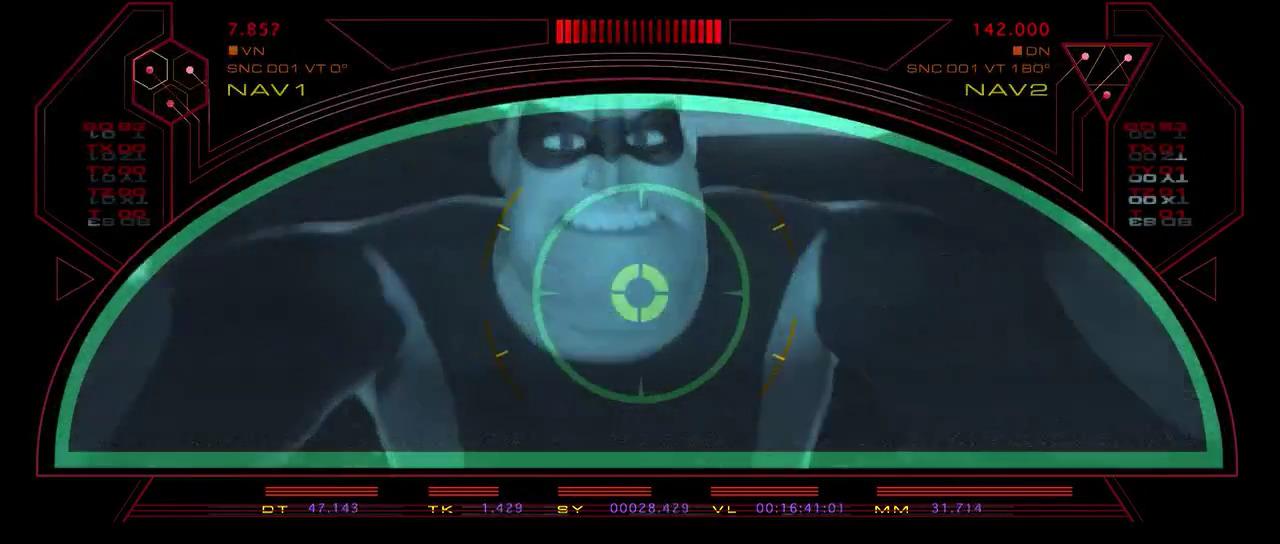 تماشای آنلاین انیمیشن شگفت انگیزان The Incredibles 2004 دوبله فارسی