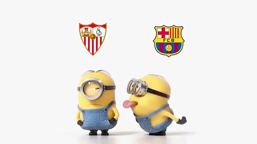 نگاه طنز به پیروزی دوباره بارسلونا مقابل سویا در سوپرکاپ