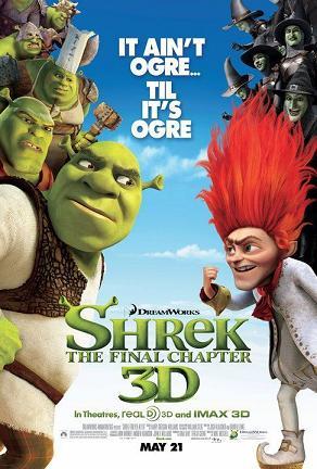 دانلود دوبله کوردی انیمیشن شرک 4 – Shrek 2010