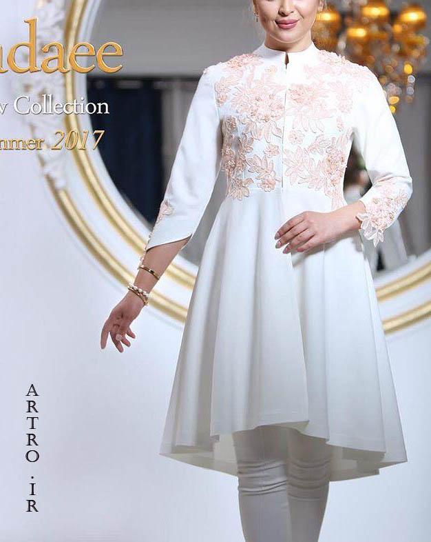 مدل مانتوی عروس 2019