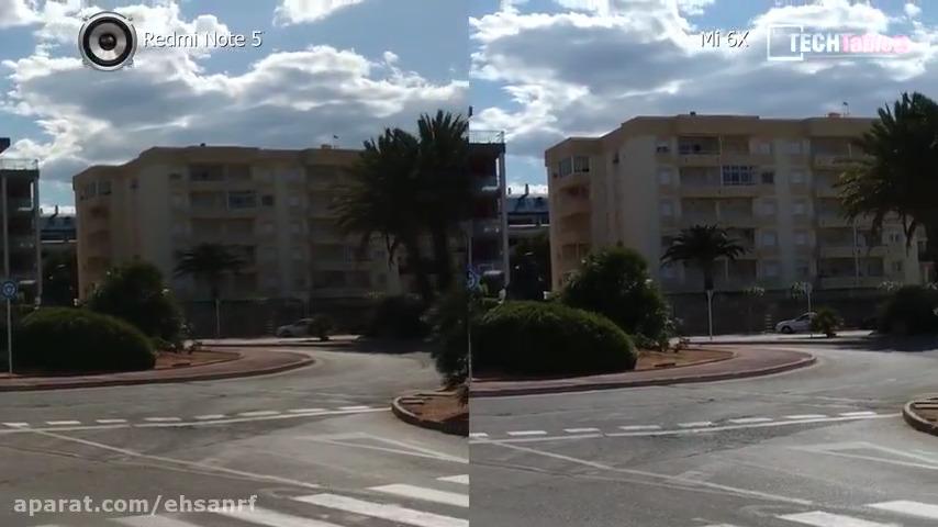 مقایسه دوربین Xiaomi Mi 6X و Redmi Note 5 AI