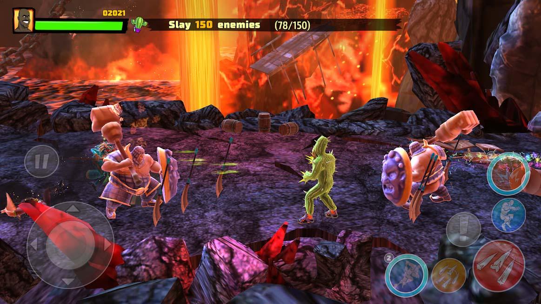 دانلود ShaqFu: A Legend Reborn 1.04.13 - بازی آرکید شیکفو: تولد افسانه برای اندروید + مود + دیتا