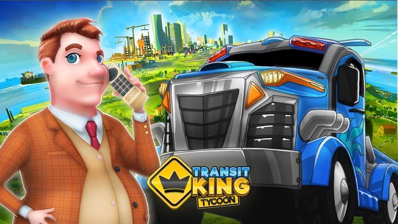 دانلود Transit King Tycoon 1.21 - بازی شبیه ساز امپراتوری ترانزیت برای اندروید + مود