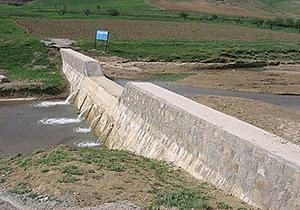 بهرهبرداری از طرح کنترل سیلاب لامرد