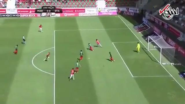 امیر عابدزاده در لیگ پرتغال کلین شیت کرد و بهترین بازیکن شد