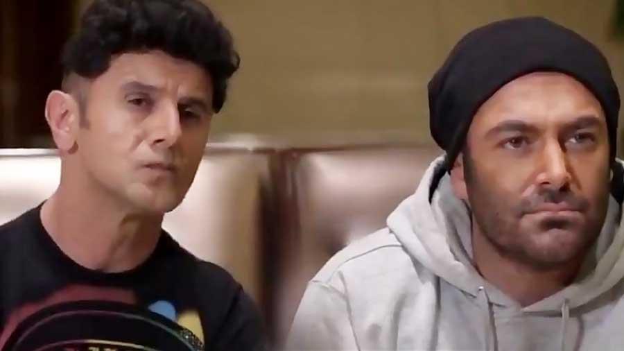 سکانس خنده دار و دیدنی سریال ساخت ایران 2