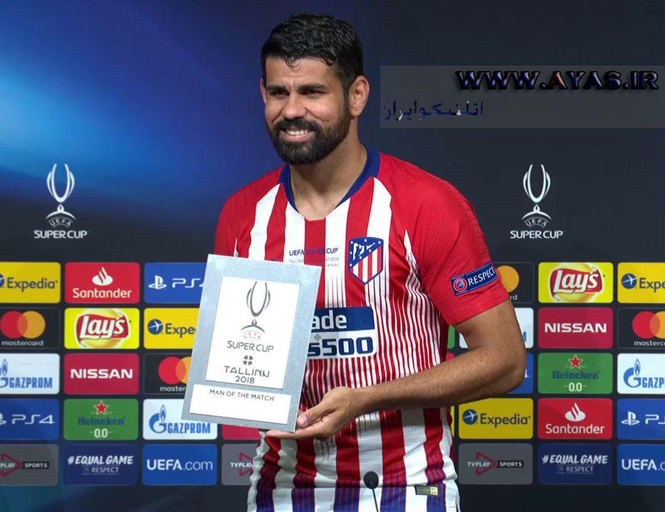 بهترین بازیکن سوپرجام اروپا