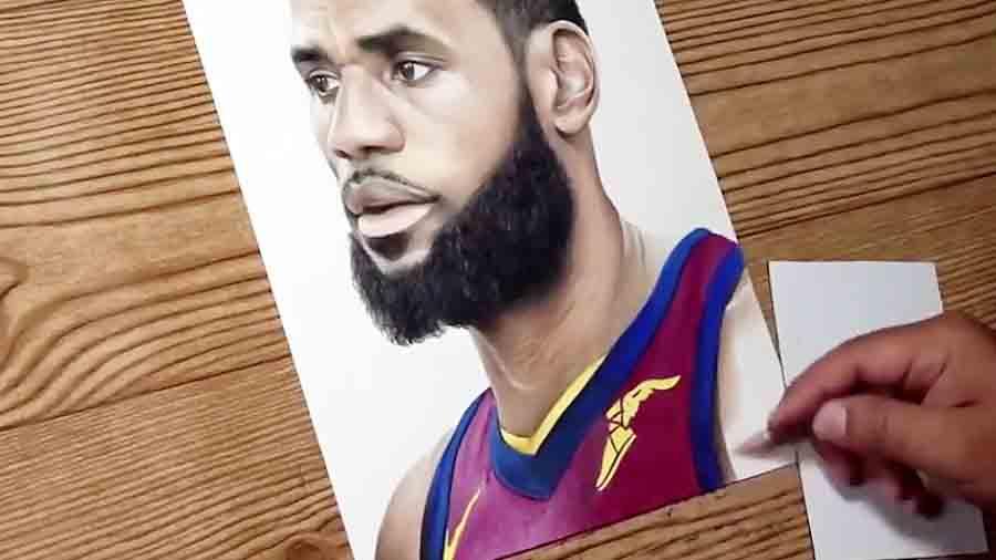 طراحی لبرون جیمز؛ ستاره دنیای بسکتبال
