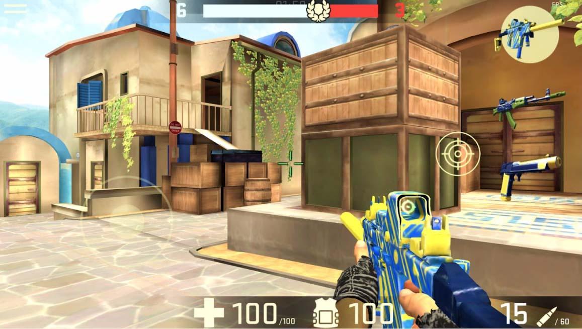 دانلود Combat Assault: FPP Shooter 1.6.10 - بازی اکشن تیراندازی شبیه به کانتر برای اندروید + مود + دیتا