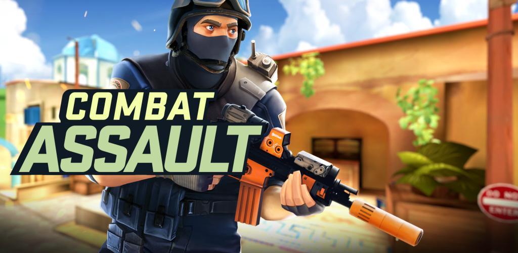 دانلود Combat Assault: FPP Shooter - بازی اکشن تیراندازی شبیه به کانتر برای اندروید + مود + دیتا