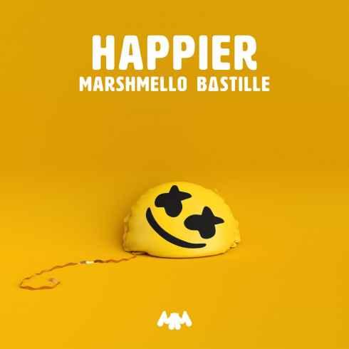 دانلود آهنگ Happier از Marshmello و Bastille با کیفیت ITunes و MP3/320