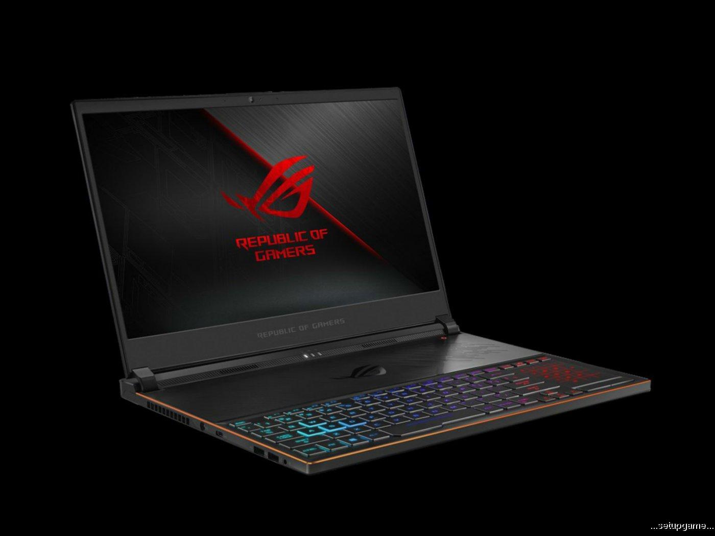 لپ تاپ Zephyrus S با پردازنده 6 هسته ای، گرافیک GTX 1070 و نمایشگر 144 هرتزی معرفی شد
