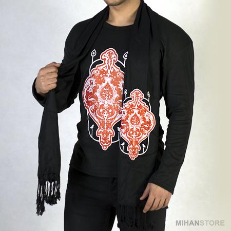 فروش ست تی شرت و شال محرم - لباس مخصوص عزاداری