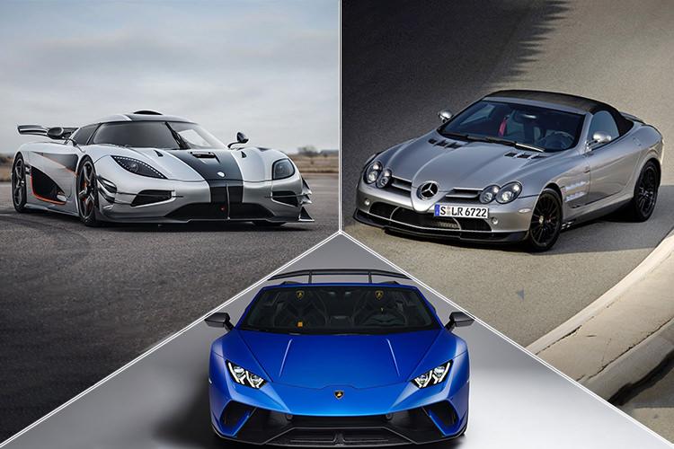 سریع ترین خودروهای کروک و کانورتیبل در تاریخ خودروسازی