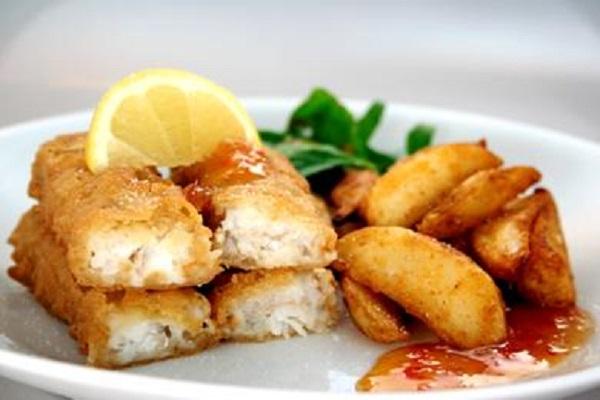 طرز تهیه خوراک ماهی سوخاری انگشتی