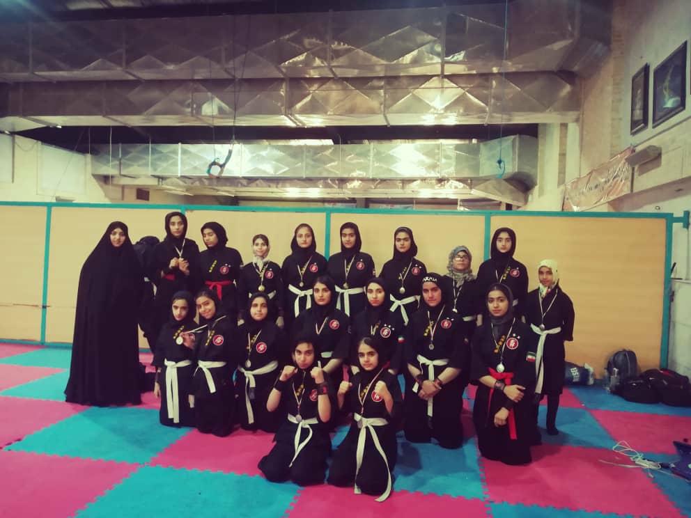 کسب ۱۷ مدال رنگارنگ بانوان نینجاکارا لامردی در مسابقات قهرمانی فارس