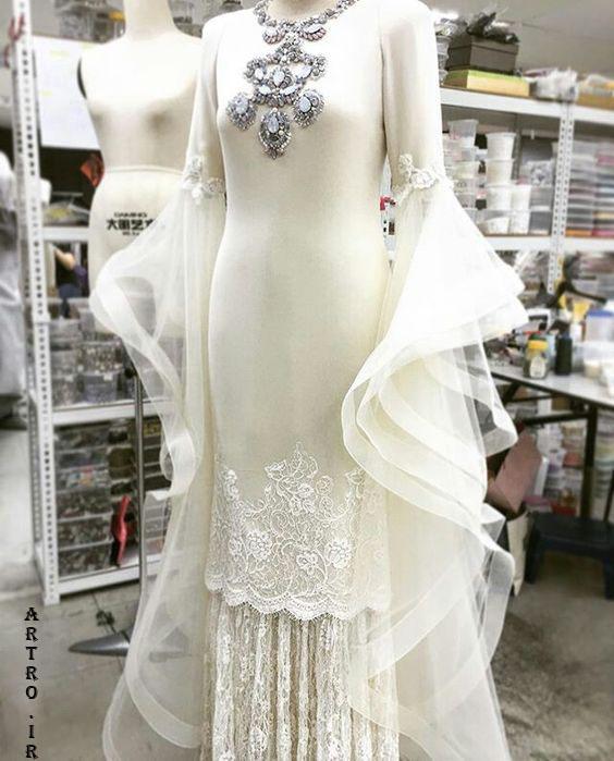 مدل لباس عروس2019