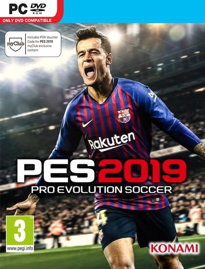 دانلود بازی PES 2019 برای کامپیوتر pc + کرک رایگان