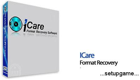 دانلود iCare Format Recovery v6.1.4 - نرم افزار بازیابی فایل از هارد درایو فرمت شده