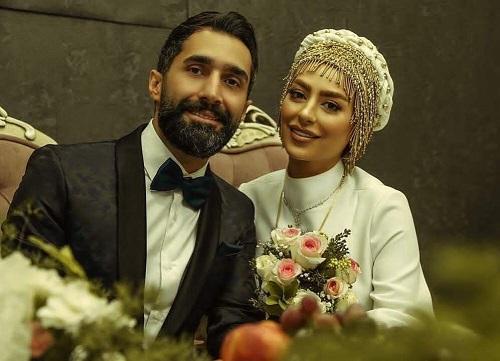 ازدواج سمانه پاکدل و هادی کاظمی + تصاویر