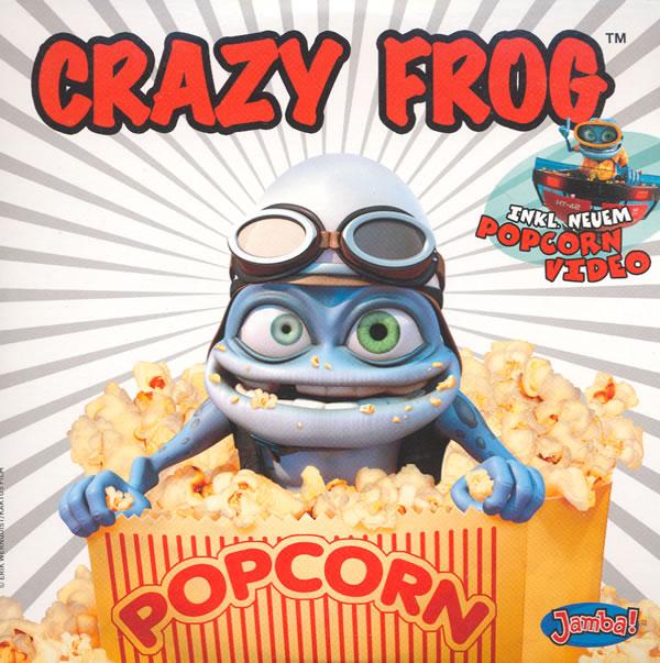 دانلود آهنگ Popcorn از Crazy Frog