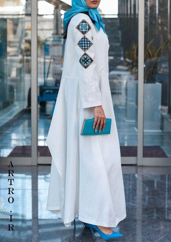 مدل های مانتو بلند مجلسی تابستانی 2019