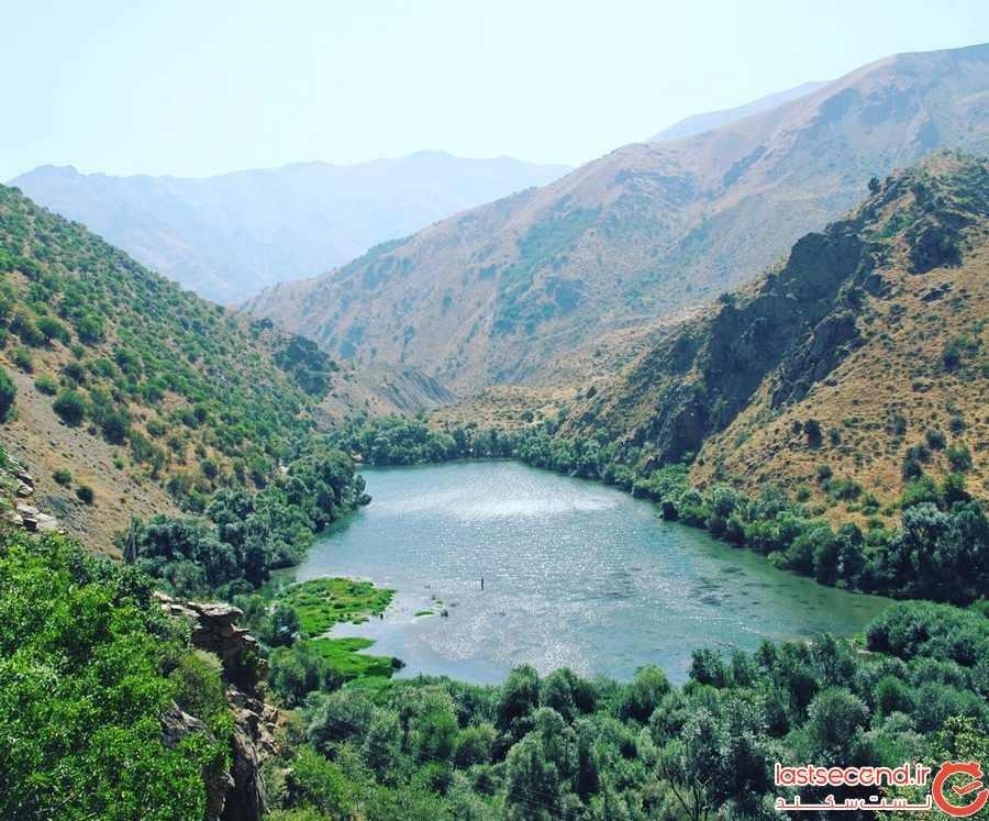 معرفی زیباییهای دریاچه مارمیشو ارومیه