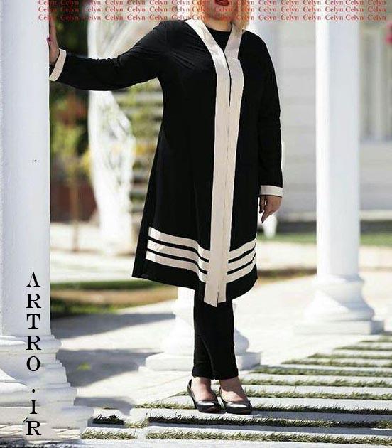 مدل مانتو زنانه سایزبزرگ سال 98