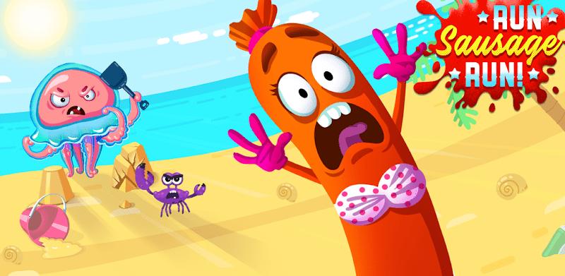 دانلود Run Sausage Run! - بازی جذاب بدو سوسیس بدو برای اندروید و آی او اس + مود