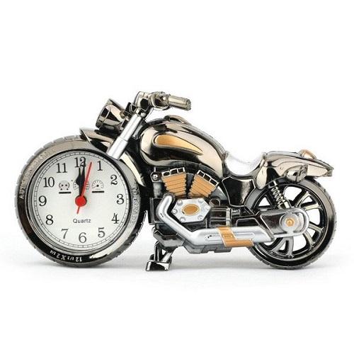 فروش ساعت دکوری طرح موتور سیکلت - ساعت کوچک زنگ دار