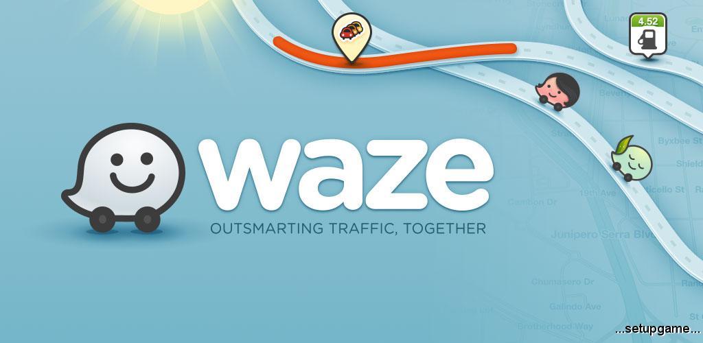 دانلود Waze - GPS, Maps & Traffic 4.42.0.902 - برنامه ترافیک و جهت یابی اندروید