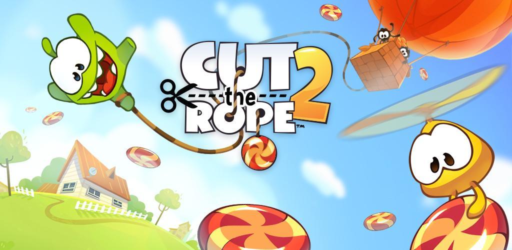 دانلود Cut the Rope 2 - بازی محبوب بریدن طناب 2 برای اندروید و آی او اس + مود