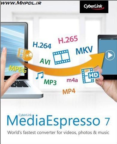 دانلود مبدل فرمت صوتی و تصویری CyberLink MediaEspresso Deluxe 7.5.10422